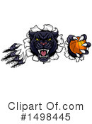 Royalty-Free (RF) Panther Clipart Illustration #1498445