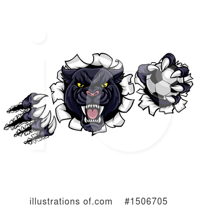 Panther Clipart #1506705 by AtStockIllustration