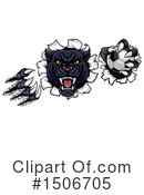 Royalty-Free (RF) Panther Clipart Illustration #1506705