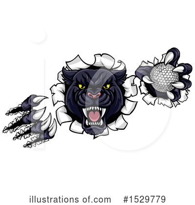 Panther Clipart #1529779 by AtStockIllustration