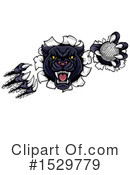 Royalty-Free (RF) Panther Clipart Illustration #1529779