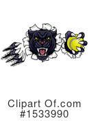 Royalty-Free (RF) Panther Clipart Illustration #1533990