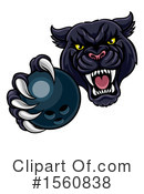 Royalty-Free (RF) Panther Clipart Illustration #1560838