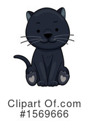 Panther Clipart #1569666 by BNP Design Studio