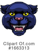 Panther Clipart #1663313 by AtStockIllustration
