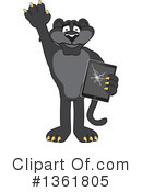 Panther School Mascot Clipart #1361805 by Toons4Biz