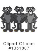 Panther School Mascot Clipart #1361807 by Toons4Biz