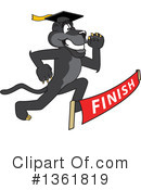 Panther School Mascot Clipart #1361819 by Toons4Biz