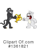 Panther School Mascot Clipart #1361821 by Toons4Biz