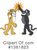 Panther School Mascot Clipart #1361823 by Toons4Biz