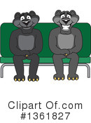 Panther School Mascot Clipart #1361827
