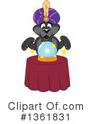 Panther School Mascot Clipart #1361831