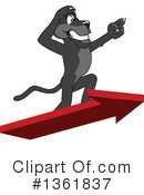 Panther School Mascot Clipart #1361837 by Toons4Biz