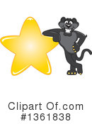 Panther School Mascot Clipart #1361838 by Toons4Biz