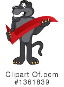 Panther School Mascot Clipart #1361839
