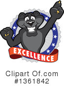 Panther School Mascot Clipart #1361842 by Toons4Biz