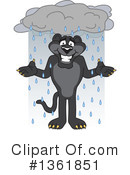 Panther School Mascot Clipart #1361851 by Toons4Biz