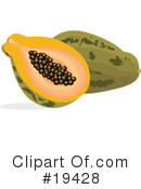 Papaya Clipart #19428 by Vitmary Rodriguez