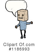 Paper Bag Clipart #1186993 by lineartestpilot