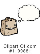 Paper Bag Clipart #1199881 by lineartestpilot