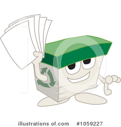 Office Supplies Clipart #1059227 by Toons4Biz
