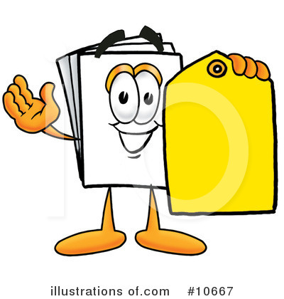 Paper Clipart #10667 by Toons4Biz