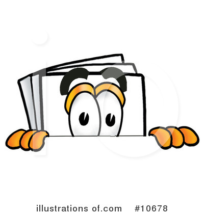 Royalty-Free (RF) Paper Clipart Illustration by Toons4Biz - Stock Sample #10678