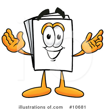 Royalty-Free (RF) Paper Clipart Illustration by Toons4Biz - Stock Sample #10681