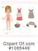 Paper Doll Clipart #1065449