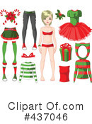 Paper Doll Clipart #437046