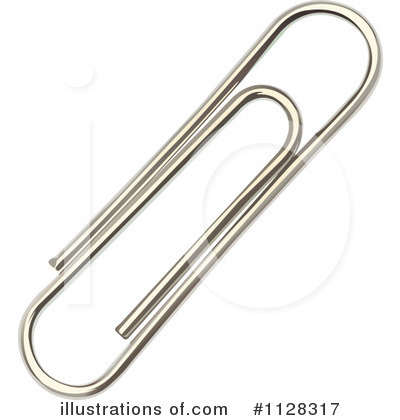 Paperclips Clipart #1128317 by Graphics RF