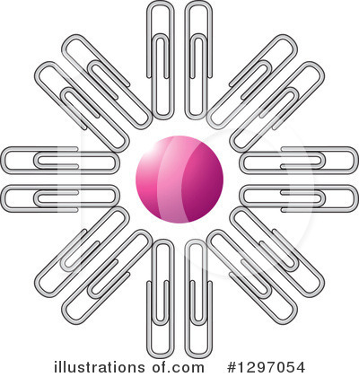 Paperclips Clipart #1297054 by Lal Perera