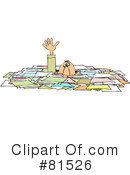 Royalty-Free (RF) Paperwork Clipart Illustration #81526