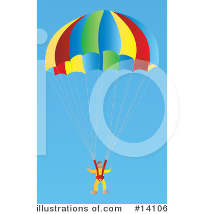 Skydiving Clipart #14106 by Rasmussen Images