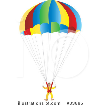 parachute clipart 33885 illustration by rasmussen images rh illustrationsof com clipart parachute humour parachute clipart free