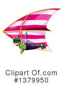 Paragliding Clipart #1379950 by Graphics RF