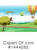 Paragliding Clipart #1444262 by Graphics RF