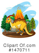 Parasaurolophus Clipart #1470711 by Graphics RF