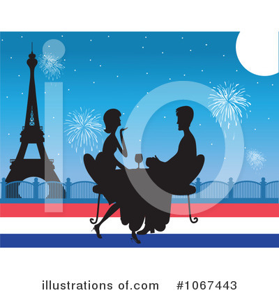 French Clipart #1067443 by Maria Bell