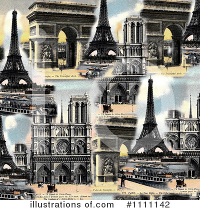Royalty-Free (RF) Paris Clipart Illustration by Prawny Vintage - Stock Sample #1111142