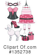Royalty-Free (RF) Paris Clipart Illustration #1352738