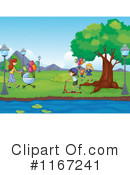 Park Clipart #1167241 by Graphics RF