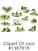 Park Clipart #1367915 by Vector Tradition SM