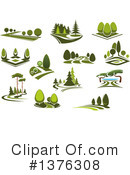 Park Clipart #1376308 by Vector Tradition SM