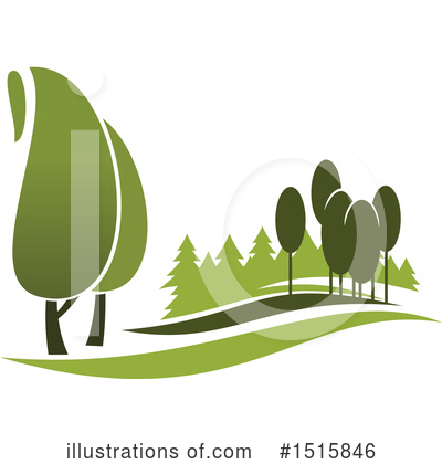 Tree Clipart #1515846 by Vector Tradition SM