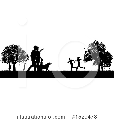 Royalty-Free (RF) Park Clipart Illustration by AtStockIllustration - Stock Sample #1529478