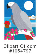 Parrot Clipart #1054797 by Maria Bell