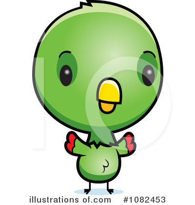 Parrot Clipart #1082453 by Cory Thoman