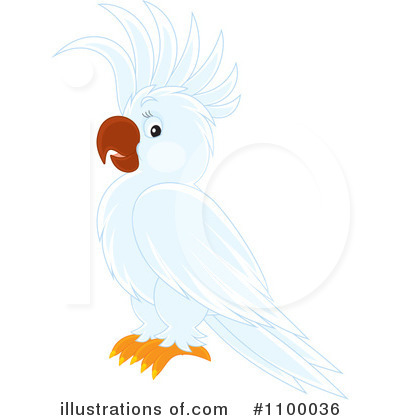 Parrot Clipart #1100036 by Alex Bannykh