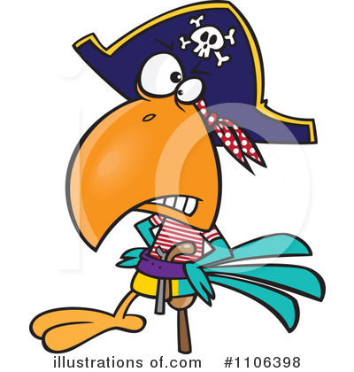 Pirate Clipart #1106398 by toonaday